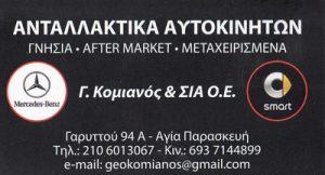 ΚΟΜΙΑΝΟΣ ΓΕΩΡΓΙΟΣ & ΣΙΑ ΟΕ