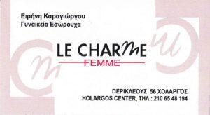 LE CHARME FEMME